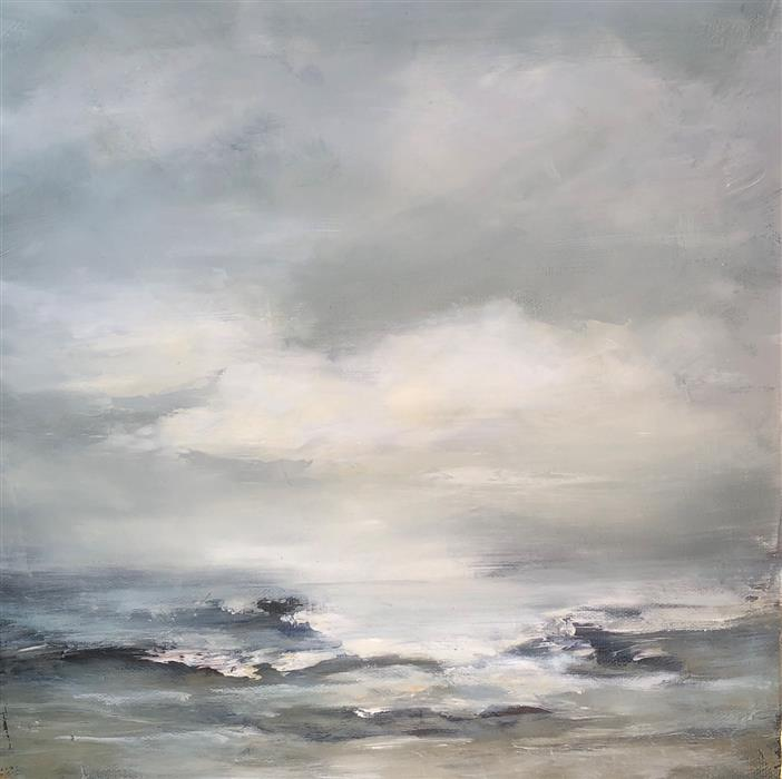 Discover Original Art by Faith Taylor | Coastal Study VI oil painting | Art for Sale Online at UGallery