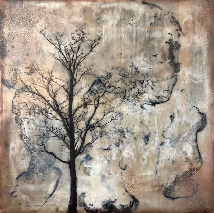 Discover Original Art by Shannon Amidon | Always and Forever encaustic artwork | Art for Sale Online at UGallery