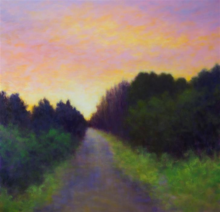 Discover Original Art by Victoria Veedell | Saturday Morning Presidio oil painting | Art for Sale Online at UGallery