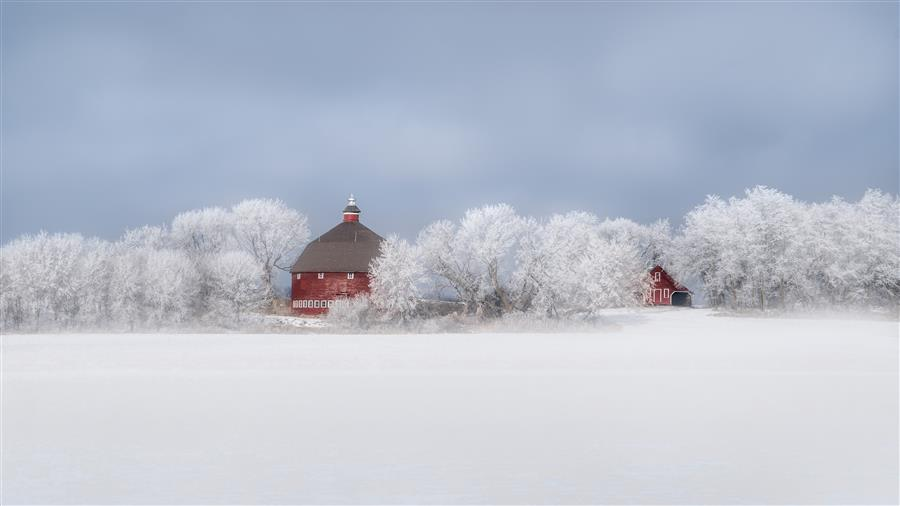 Original art for sale at UGallery.com | Quiet Breath of Winter by LORIANNE ENDE | $295 |  | ' h x ' w | \art\photography-Quiet-Breath-of-Winter