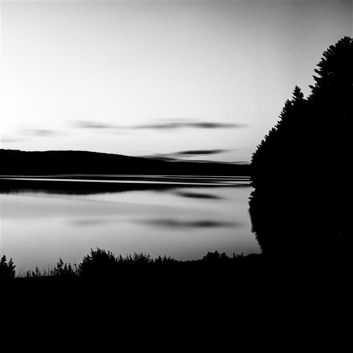 Original art for sale at UGallery.com | Barkhamsted Reservoir, Dusk by ADAM GARELICK | $185 |  | ' h x ' w | \art\photography-Barkhamsted-Reservoir-Dusk