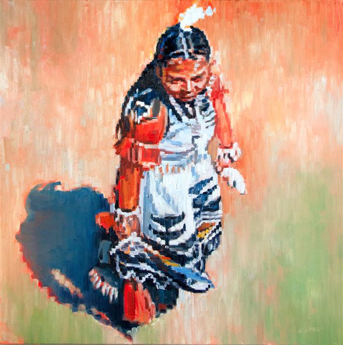 Discover Original Art by Warren Keating | Ceremony oil painting | Art for Sale Online at UGallery