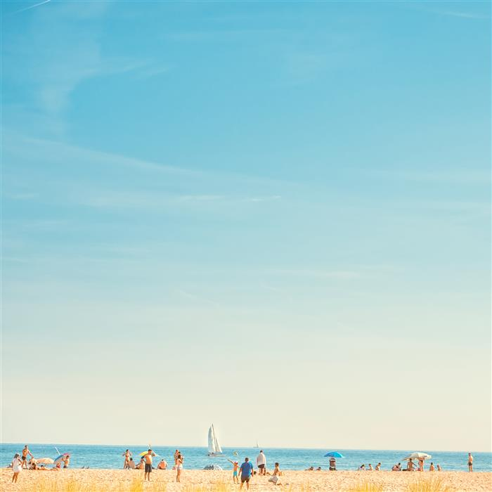 Original art for sale at UGallery.com | Hot Summer in blue by JOANNA PECHMANN | $235 |  | ' h x ' w | \art\photography-Hot-Summer-in-blue