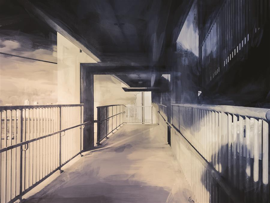 Original art for sale at UGallery.com | Linear Perspective by YASMINE RAFII | $170 |  | ' h x ' w | \art\photography-Linear-Perspective-64709