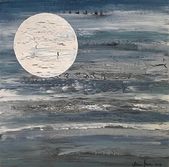 Discover Original Art by Alicia Dunn | Silent Echo acrylic painting | Art for Sale Online at UGallery