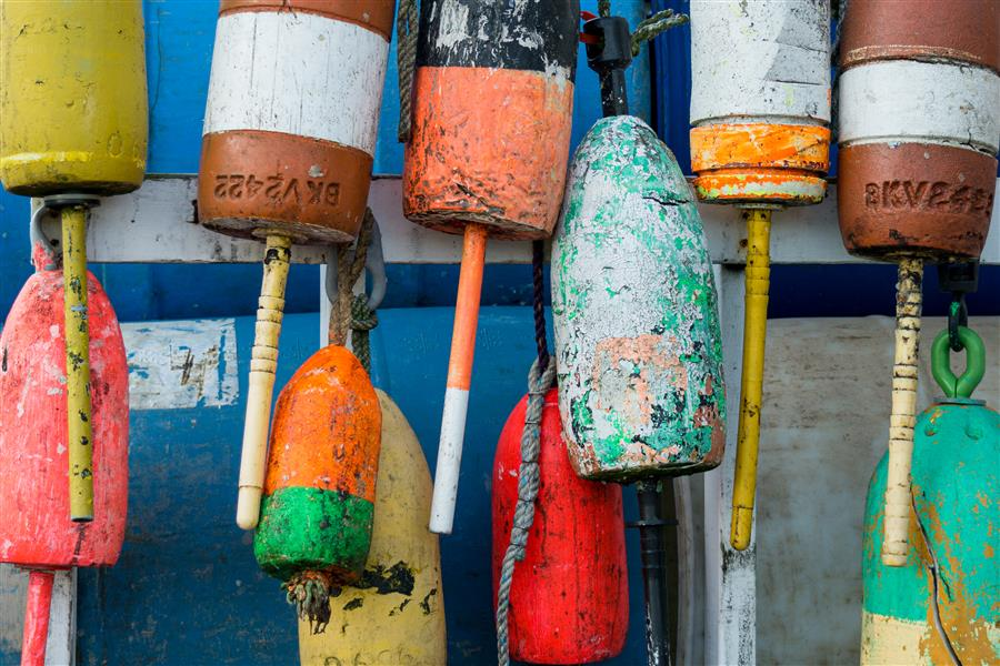Original art for sale at UGallery.com | Buoys by KIMBERLY POPPE | $220 |  | ' h x ' w | \art\photography-Buoys-65572