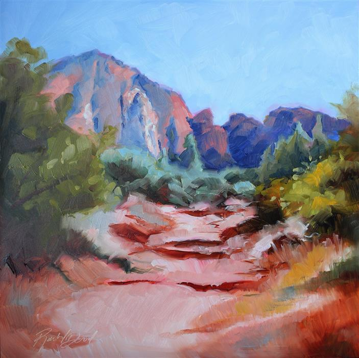 Discover Original Art by Rachel Dowd | Sedona Magic oil painting | Art for Sale Online at UGallery